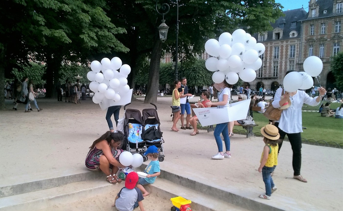 Street Marketing Petit Bateau