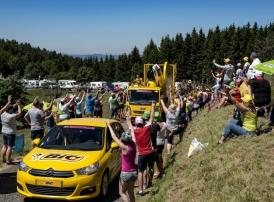 Caravane publicitaire Tour de France
