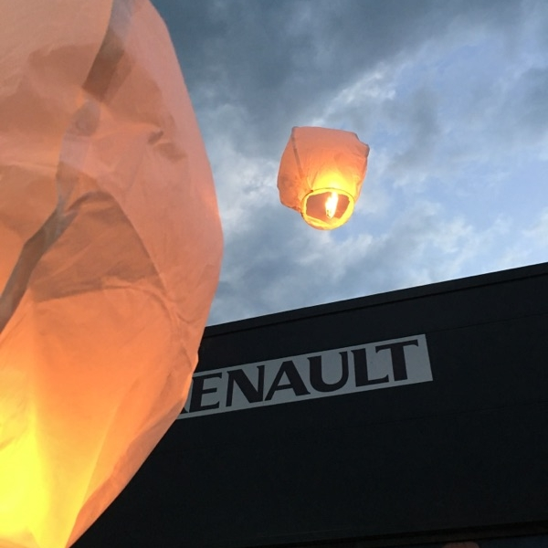 Inauguration Renault Baralle