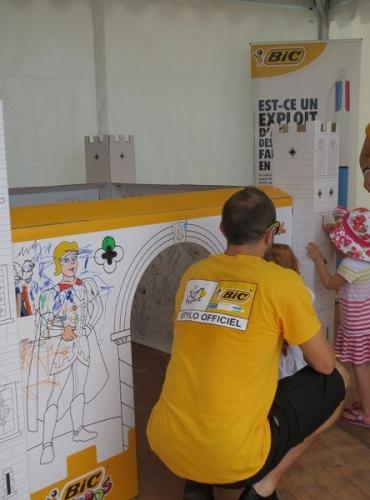 Stand et animation pour enfants